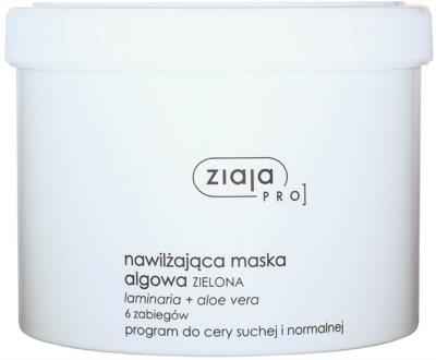 Ziaja Pro Alginate Masks máscara hidratante