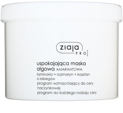 Ziaja Pro Alginate Masks upokojujúca maska