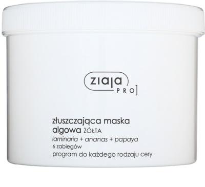 Ziaja Pro Alginate Masks hámlasztó maszk