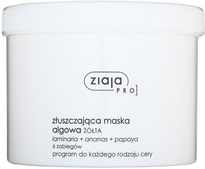 Ziaja Pro Alginate Masks máscara esfoliante