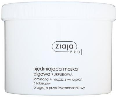 Ziaja Pro Alginate Masks učvrstitvena maska