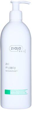Ziaja Pro Cleansers All Skin Types gel de curatare pentru reglarea cantitatii de sebum.