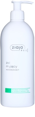 Ziaja Pro Cleansers All Skin Types tisztító gél a faggyútermelés szabályozására