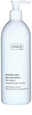 Ziaja Pro Cleansers All Skin Types tisztító és lemosó micelláris víz