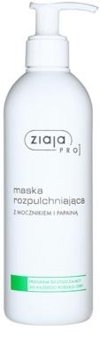 Ziaja Pro Cleansers All Skin Types kojąca maska z mocznika i papaina