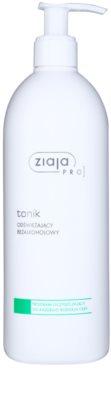Ziaja Pro Cleansers All Skin Types tonik odświeżający bez alkoholu
