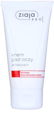 Ziaja Pro Anti-Wrinkle crema cu efect lifting pentru ochi
