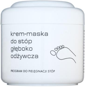 Ziaja Pro Foot Care tiefenwirksame nährende Creme-Maske für die Füße