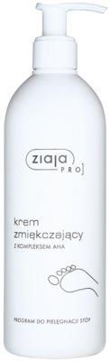 Ziaja Pro Foot Care creme suavizante para pés e calcanhares com A.H.A (Alpha Hydroxy Acids)