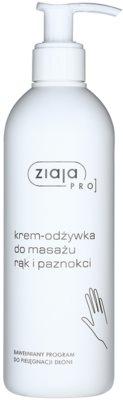 Ziaja Pro Hand Care výživný masážní krém na ruce a nehty