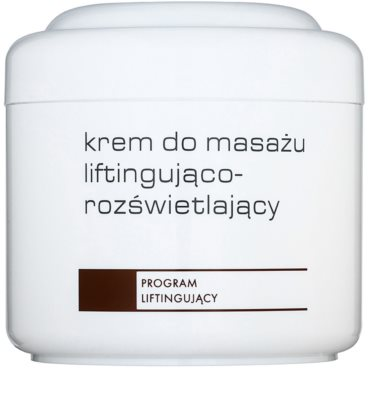 Ziaja Pro Lifting crema pentru masaj lumineaza si catifeleaza pielea