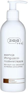 Ziaja Pro Lifting Essenz zum Aufhellen und Glätten des Augen - und Lippenbereichs