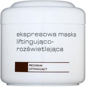 Ziaja Pro Lifting intenzív élénkítő maszk a bőr feszességéért