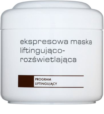 Ziaja Pro Lifting máscara iluminadora imediata para esticar a pele