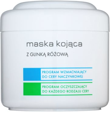 Ziaja Pro Multi-Care máscara calmante com argila rosa
