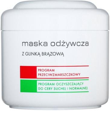 Ziaja Pro Multi-Care подхранваща маска с кафява глина