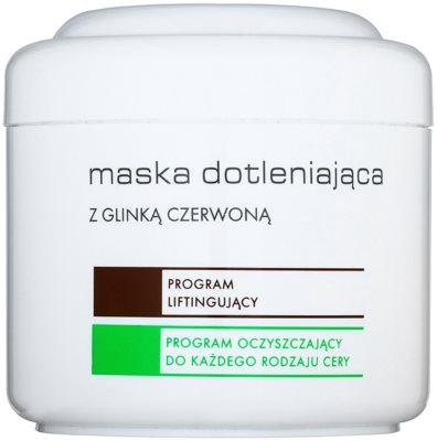 Ziaja Pro Multi-Care okysličující maska s červeným jílem