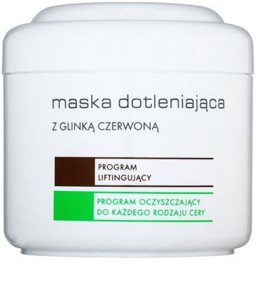 Ziaja Pro Multi-Care oxigén maszk vörös agyaggal