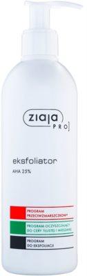 Ziaja Pro Multi-Care ексфолиращ гел с AHA 25%