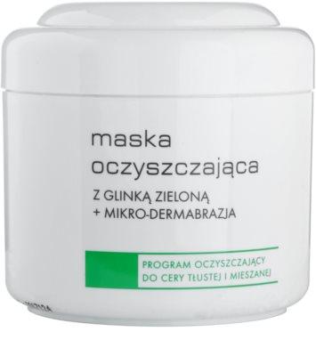 Ziaja Pro Cleansers Oily and Combination Skin máscara de limpeza com argila verde e microcristais