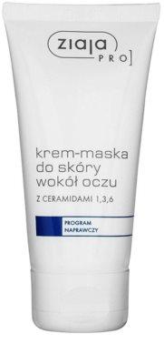 Ziaja Pro Remedial Creme-Maske für den Augenbereich mit Ceramiden