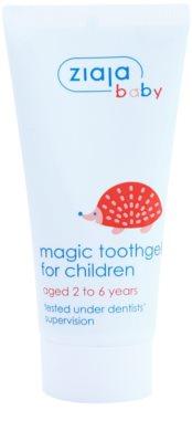 Ziaja Baby зубний гель для дітей з фтором