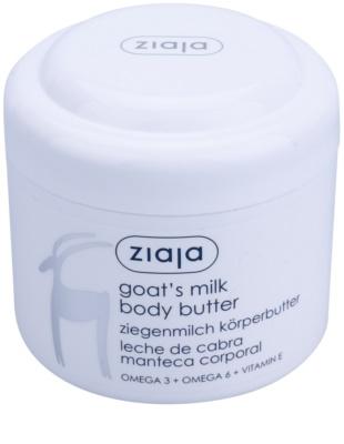 Ziaja Goat's Milk manteiga corporal