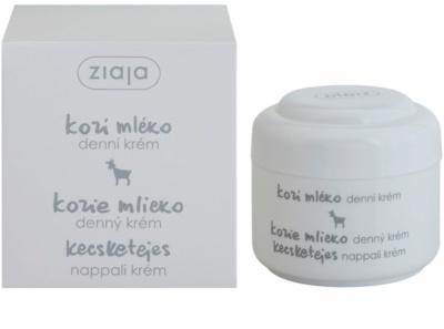 Ziaja Goat's Milk Feuchtigkeitsspendende Tagescreme für trockene Haut 1