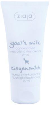 Ziaja Goat's Milk nawilżający krem na dzień SPF 20