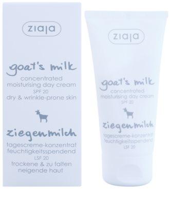 Ziaja Goat's Milk nappali hidratáló krém SPF 20 1