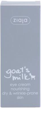 Ziaja Goat's Milk creme de olhos para pele seca 2