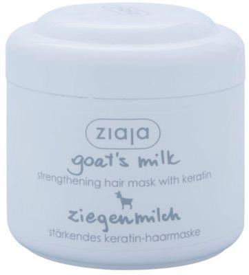 Ziaja Goat's Milk maska za okrepitev las za suhe in poškodovane lase