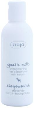 Ziaja Goat's Milk condicionador fortificante para cabelo seco a danificado