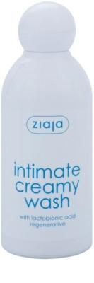 Ziaja Intimate Creamy Wash gel para higiene íntima para pele sensível