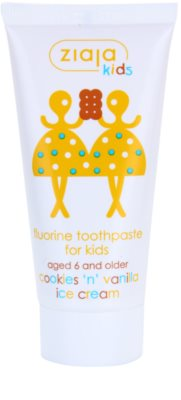 Ziaja Kids Cookies 'n' Vanilla Ice Cream зубна паста для дітей