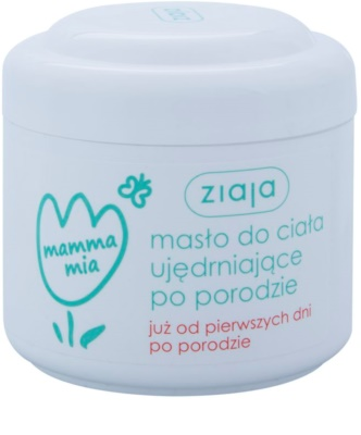 Ziaja Mamma Mia manteiga corporal reafirmante para mulheres depois do parto