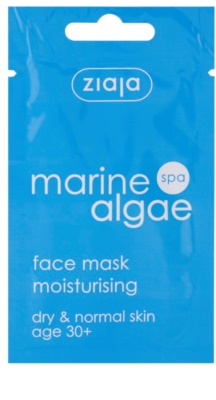 Ziaja Marine Algae хидратираща маска за нормална и суха кожа