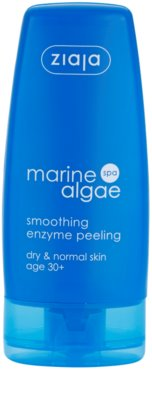 Ziaja Marine Algae enzimatikus peeling normál és száraz bőrre