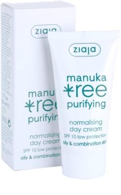 Ziaja Manuka Tree Purifying денний крем для комбінованої та жирної шкіри 1