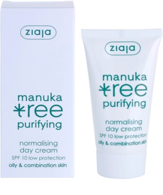 Ziaja Manuka Tree Purifying денний крем для комбінованої та жирної шкіри 2