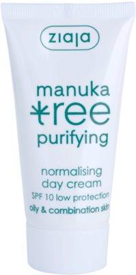 Ziaja Manuka Tree Purifying nappali krém kombinált és zsíros bőrre
