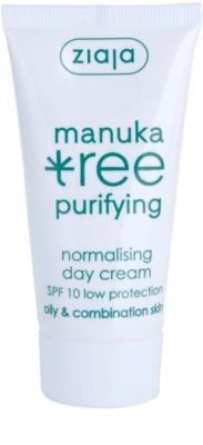Ziaja Manuka Tree Purifying денний крем для комбінованої та жирної шкіри