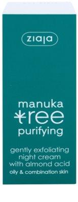 Ziaja Manuka Tree Purifying exfoliant crema de noapte impotriva acneei 2