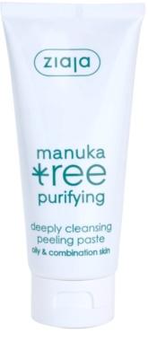 Ziaja Manuka Tree Purifying čisticí peelingová pasta pro normální až mastnou pleť