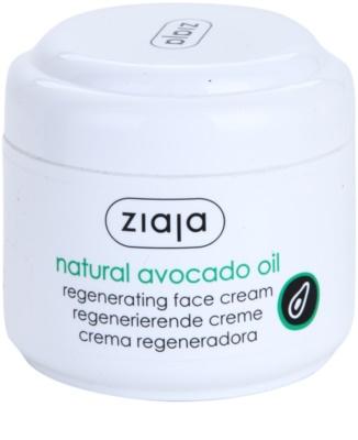 Ziaja Natural Avocado Oil creme regenerador para o rosto