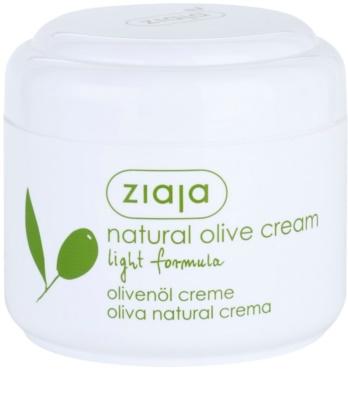 Ziaja Natural Olive nawilżający krem na dzień do cery normalnej i suchej