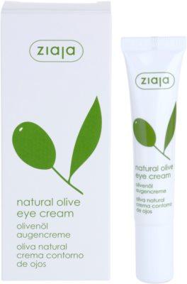 Ziaja Natural Olive Augencreme mit Auszügen aus Oliven 1
