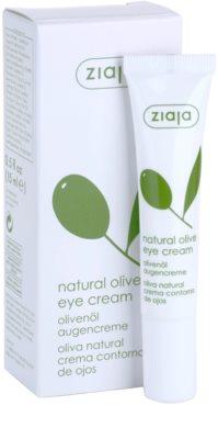Ziaja Natural Olive Augencreme mit Auszügen aus Oliven 2