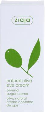 Ziaja Natural Olive Augencreme mit Auszügen aus Oliven 3