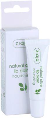 Ziaja Natural Olive odżywczy balsam do ust z ekstraktem z oliwek 2